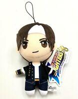 King of Fighters 98 Game Mascot Plush Charm Keychain Doll Kyo Kusanagi AMU10396