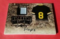 """WILLIE STARGELL """"POPS"""" GAME USED JERSEY CARD #d16/30 PITTSBURGH PIRATES LEAF"""
