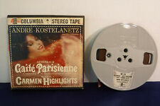 Andre Kostelanetz, Offenbach: Gaite Parisienne, MQ 336, 4 track 7.5 IPS Reel