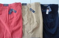 """Polo Ralph Lauren Mens Shorts  Big and Tall Stretch Classic Fit 9"""" NEW"""