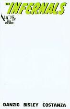 NEW THE INFERNALS Ltd Ed BLANK COVER DANZIG BISLEY COSTANZA VEROTIK