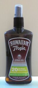 HAWAIIAN TROPIC VTG PROTECTIVE SUN SPRAY OIL 20 MEDIUM PROTECTION 200ML NEW