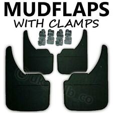 4 X NEW QUALITY RUBBER MUDFLAPS TO FIT  Hyundai Pony / Excel UNIVERSAL FIT