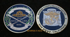3RD RTBN CHALLENGE COIN US MARINES BOOT CAMP GRADUATION INDIA KILO LIMA MIKE WOW