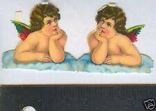 Pair small Vintage Raphael's Angels scraps Germany