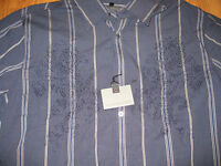 Transcript Men's Shirt with Embroidery Design