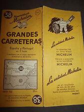 Carte michelin 38 grandes carreteras espagne et portugal, 1951 3