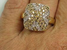 14K 1.31 ct. Champagne White Diamond ring,  Size 8