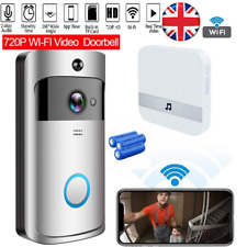 Smart Video Doorbell Camera Wireless WiFi Security Phone Bell Intercom 720P HD
