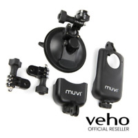 VEHO SHORT BASED MUVI SUCTION MOUNT 2 HOLDERS, CRADLE & TRIPOD - VCC-A020-USM
