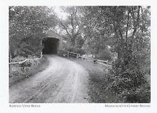 "*Postcard-""The Sheffield Upper Bridge"" @ *Massachusettes (A319)"