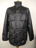 """Feraud Italy Men's Black Jacket Coat Size Small S Pit to Pit 23"""""""