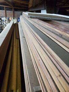 """IPE Wood Decking (Ironwood) 1"""" x 4"""" exotic hardwood- """"rare"""""""