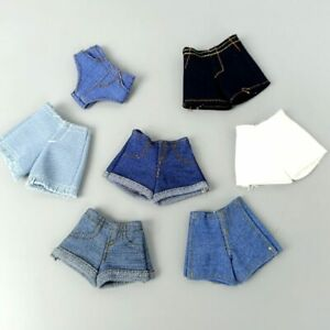"""Fashion Denim Jeans Bottoms Shorts For 11.5"""" Doll Clothes Outfits Short Pants"""