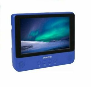 """DigiLand DL9002: Portable DVD Player Wi-Fi Tablet Combo 9"""" Touchscreen - Blue"""