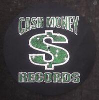 DJ SLIPMAT 1200's or any turntable, record player--CASH MONEY-1 MAT