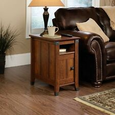 Office End Table Small Coffee And Side Cherry Finish With Storage Drawer Sofa