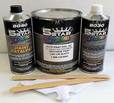 5 Star Low Voc high performance Vw Black L041 urethane auto paint single stage
