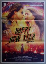NEW BOLLYWOOD MOVIE POSTER - HAPPY NEW YEAR/SHAH RUKH KHAN DEEPIKA , 2014 #3