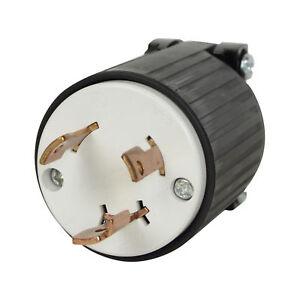 Cooper 125V 30 Amp Twist Lock Plug L5 NEMA Connector New for Generator RV Marina
