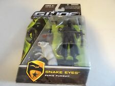 "G.I. Joe The Rise of Cobra 3 3/4"" Movie Action Figure- Snake Eyes Paris Wolf"