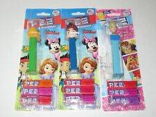 PEZ DISNEY Themed Candy Dispensers Lot Of 3 - BRAND NEW