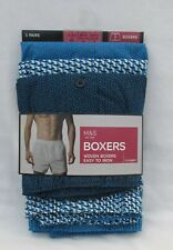 Confezione di 3 paia di media cotone Stretch Hipster Boxer Marks and Spencer