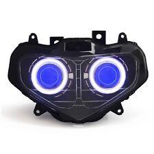 Angel Eye HID Projector Headlight Assembly for Suzuki GSXR GSX-R 750 01-03 Blue