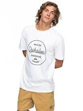 Quiksilver Mañana diapositivas camiseta 2018 blanco m Eqyzt04774-wbb0
