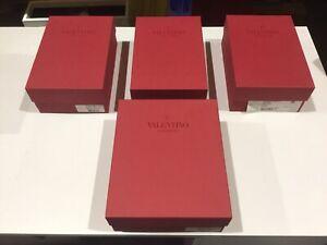 Used 4 X Valentino Garavani Empty Boxes Wholesale Bundle,Clearance Sale