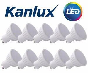 GU10 LED Downlight Spot Bulb 1.2w Watt Light Warm White Coolwhite 1w 3w 5w 7w 9w