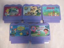 Vtech V.Smile 6 Game Cartridges Scooby-Do,Cinderella,Dora, Little Mermaid v-8