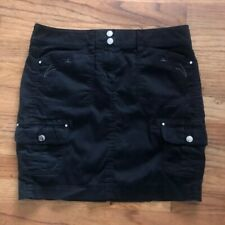 White House Black Market Women's Mini Skirt Size 2 Black