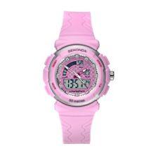 Sekonda 35mm Pink Ladies Sports Watch Analogue/Digital Dial 50m SK2422