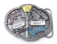 Jazz & Blues Belt Buckle 14012 music new orleans belt buckles