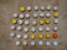 40 Used Lacrosse Balls -- variety of brands, colors and conditions