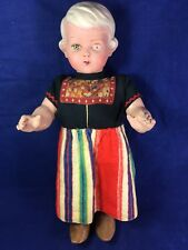 Vintage Rozetta Dutch Doll Compostion 17""