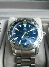 Omega Seamaster 2253.80 Automatic Chronometer Midsize Mens Watch With Links/Tag