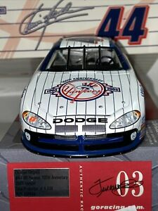 2003 CHRISTIAN FITTIPALDI #44 NEW YORK YANKEES 100 ANNIVE - DODGE INTREPID