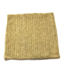 Pottery Barn Straw Abaca Pillowcase Rattan Tan Brown Natural Woven RARE FIND