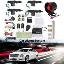 Car Alarm Remote Start Keyless Entry Vehicle Security System Door Power Lock