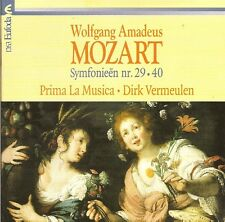 Mozart - Symphonies Nos. 29 & 40 / Prima La Musica • Dirk Vermeulen