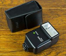 Mint Ricoh/Pentax 260P Shoe Mount Flash, TTL/Auto for Ricoh XR-P w/case Tested!
