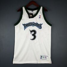 100% Authentic Stephon Marbury Vintage Starter Wolves Jersey Size 44 L Mens