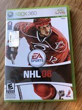 NHL 08 (Microsoft Xbox 360, 2007) Cib Game H3