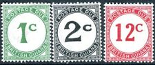 BRITISH GUIANA-1940-55 Postage Due Set Sg D1,2,4  MOUNTED MINT V194430