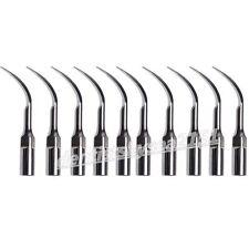 10X Dental Ultrasonic Piezo Scaler Tips Perio PD1 fit DTE Satelec détartreur
