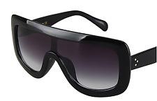 Oversized Black Square 100% UV 400 Chic Trending Women Sunglasses