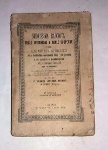 Lovera Giacomo Aniano - Nuovissima raccolta delle invenzioni e scoperte - 1895