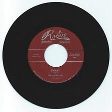 DOO WOP 45 THE RAINBOWS SHIRLEY ON RED ROBIN  VG+  REPRO
